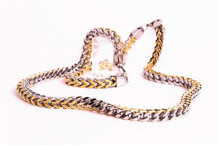Элитные украшения для мужчин браслеты, кольца, цепи, кулоны, чокеры из ювелирной стали 316L, титана